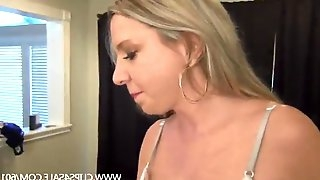 Lauren gets a massage