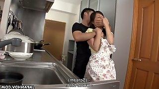 Shibari Japanese chick Erena Yamamoto gets her pussy fucked and creampied