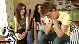 Amoral Teens Seduce Shy Geek Boy
